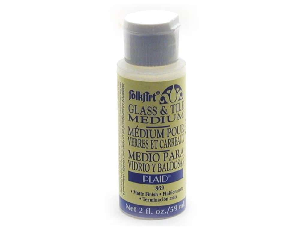 FolkArt Glass & Tile Medium 2 oz.