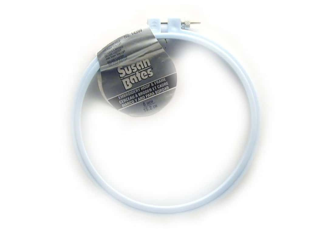 Susan Bates Plastic Embroidery Hoops 6 in. Blue