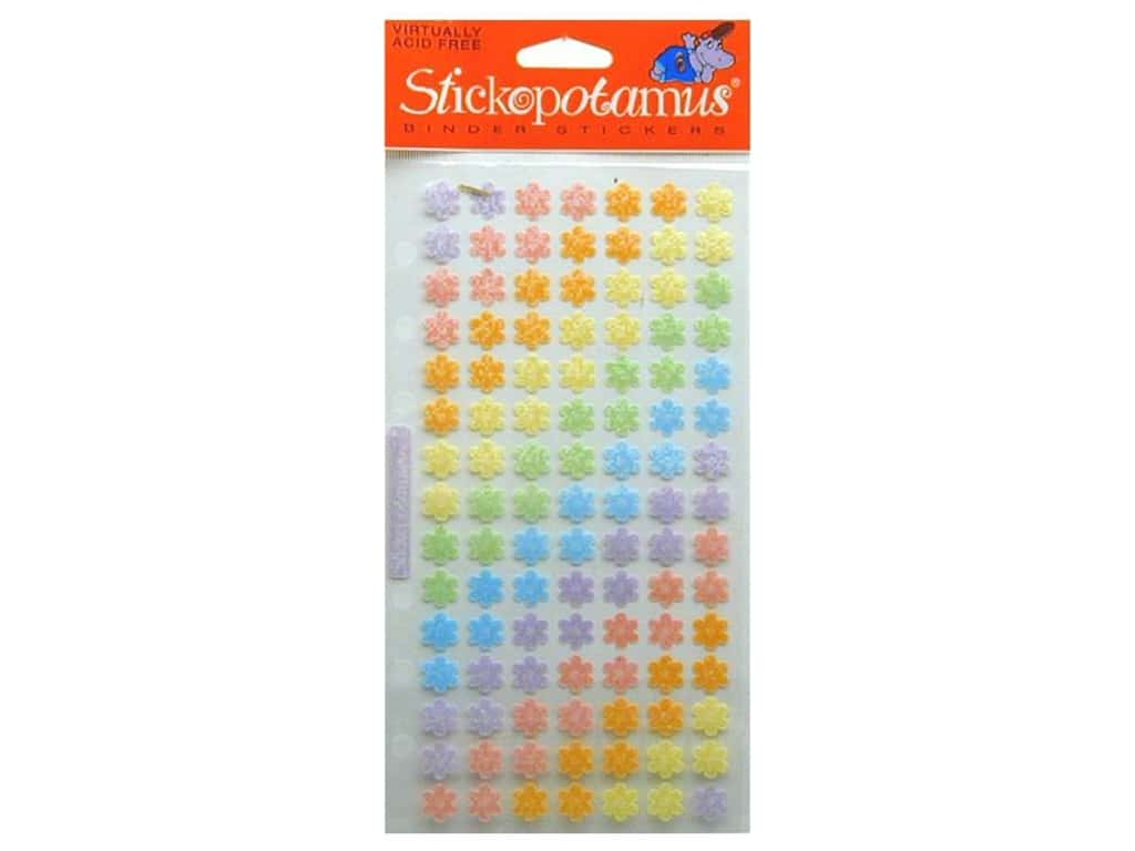 EK Sticko Stickers Jelly Flowers