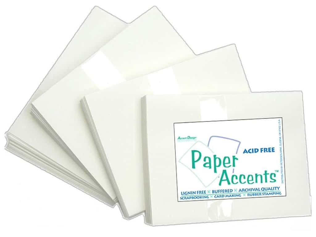 4 1/4 x 5 1/2 in. Envelopes by Paper Accents 100 pc. #128 White