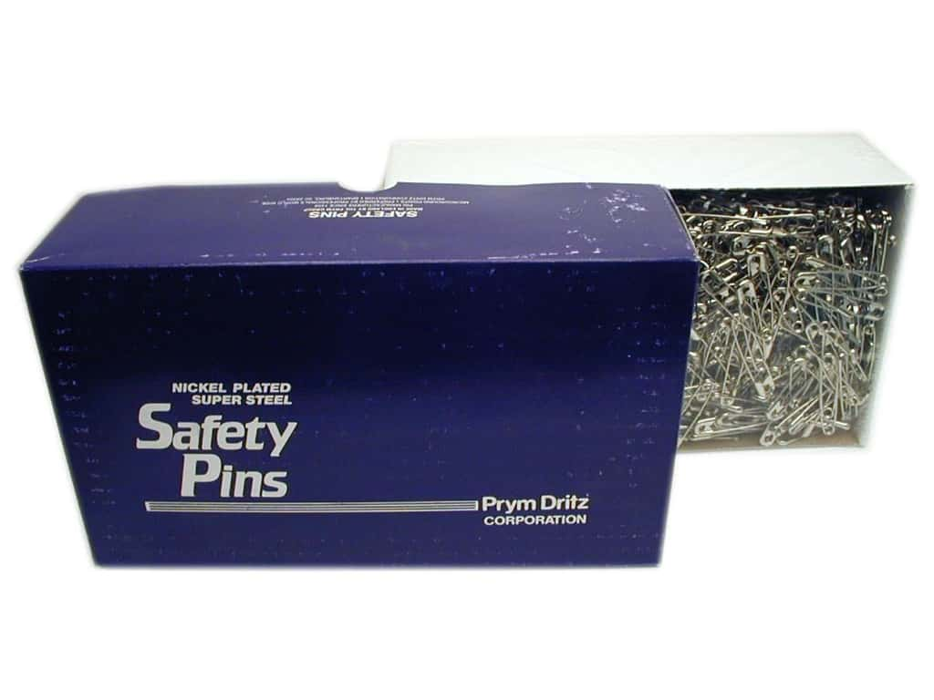 Dirtz Safety Pins - 2 in. Nickel 1440 pc.