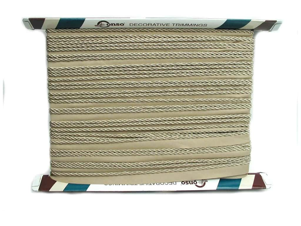 Conso Princess Cord with Lip 3/16 in. x 24 yd. Sandstone (24 yards)