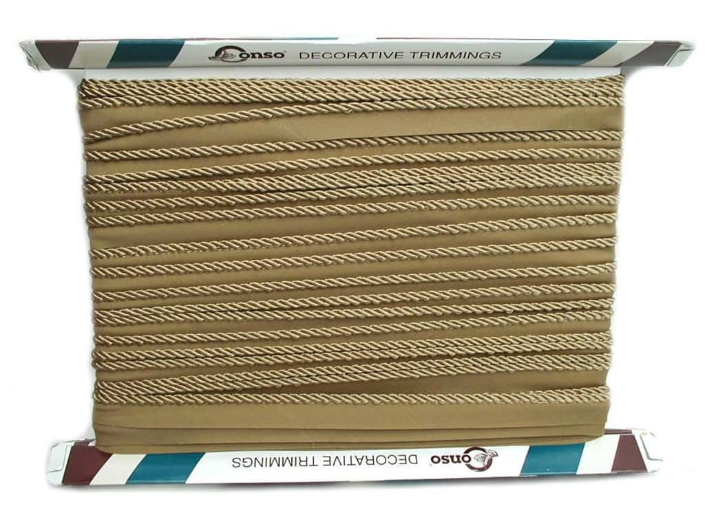 Conso Princess Cord with Lip 3/16 in. x 24 yd. Camel (24 yards)