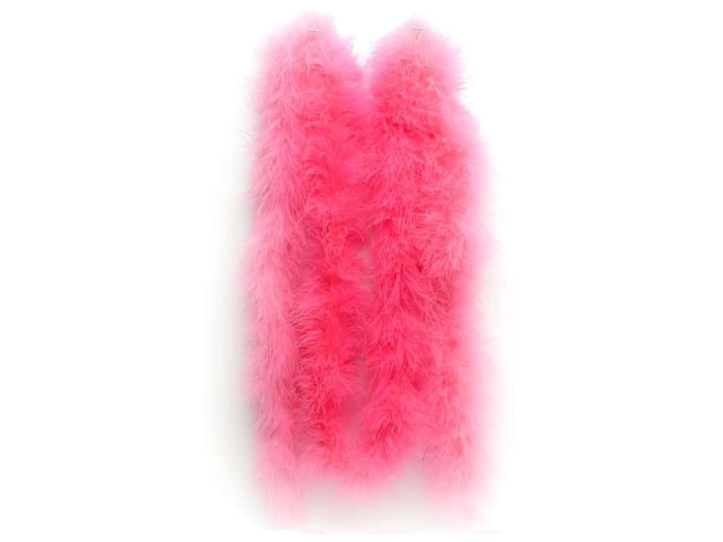 Zucker Marabou Feather Boa 2 yd. Medium Weight Pink Orient