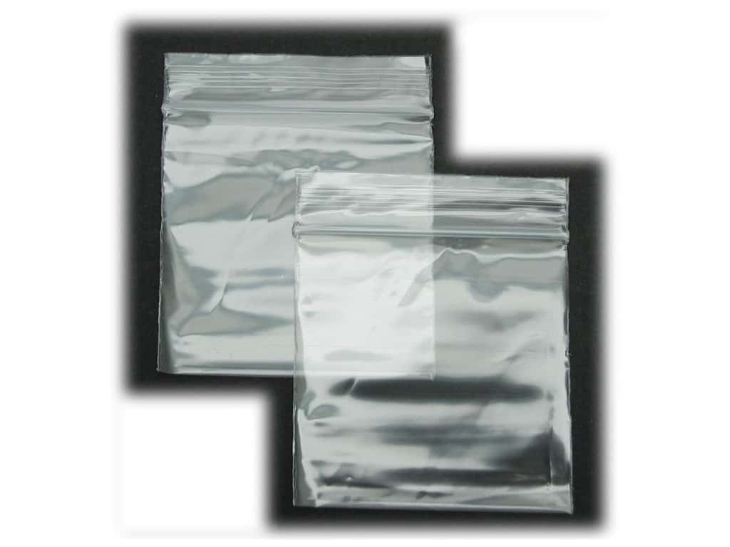 GTZIP Plain 2 Mil Zip Bags 2 x 2 in. Clear 100 pc.