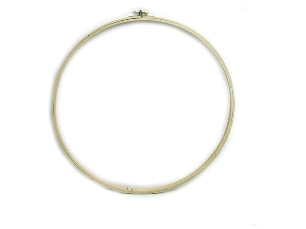 Darice Wood Quilting Hoops 14 in.