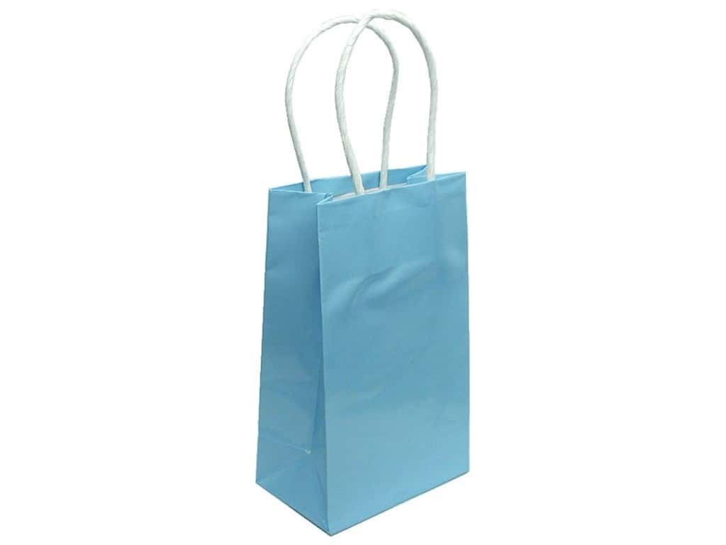Small Gift Bag by Cindus Clay Coat Baby Blue