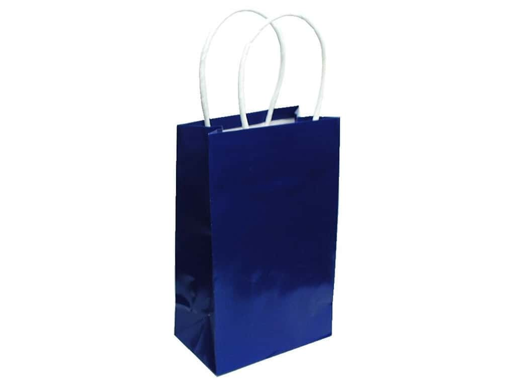 Small Gift Bag by Cindus Clay Coat Royal Blue
