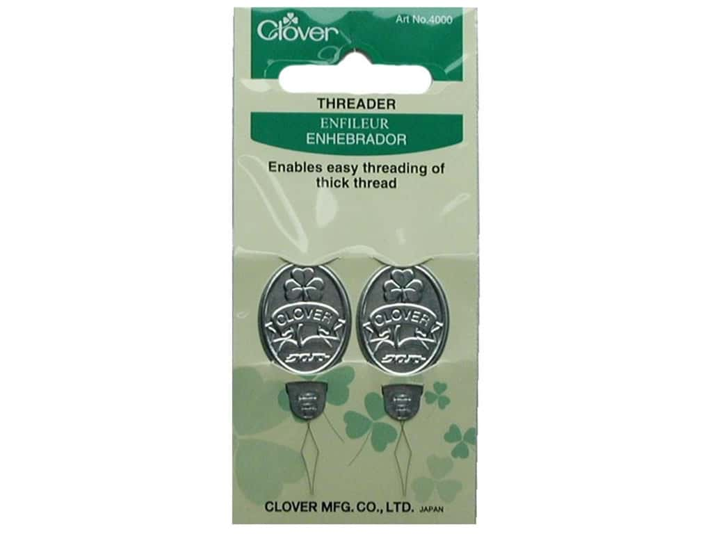 Clover Needle Threaders 2 pc.