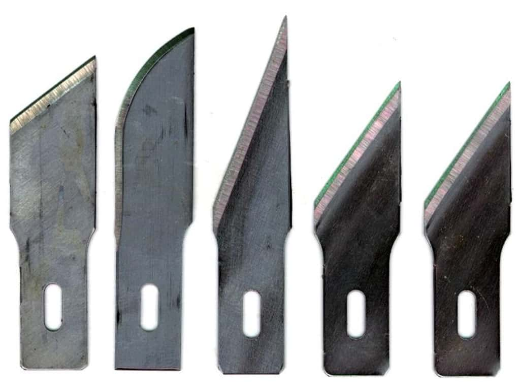 Excel Hobby Knife Blade Assorted Heavy Duty 5pc