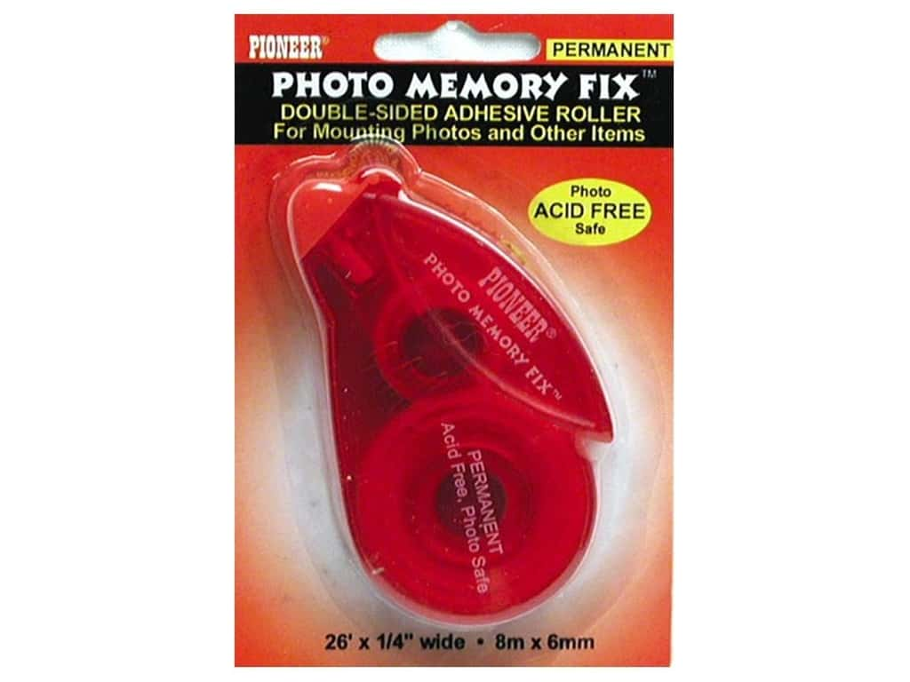 Pioneer Pioneer Photo Memory Fix Adhesive Roller 1/4 in. x 26 ft. Permanent