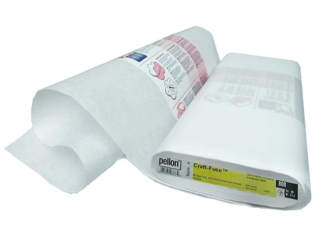 Pellon Craft-Fuse Fusible Stabilizer 20 in. x 20 yd. White (30 yards)