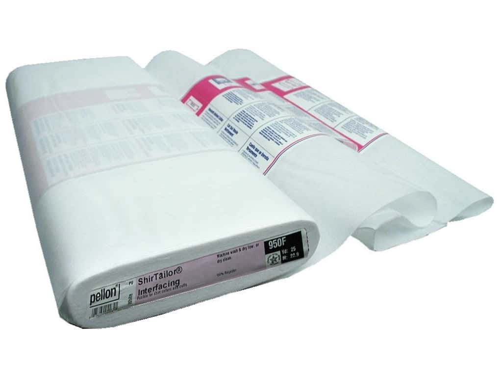 Pellon Interfacing ShirTailor Fusible 20 in. x 25 yd White (25 yards)