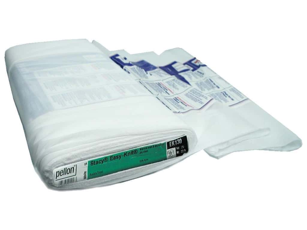 Pellon Easy-Knit Fusible Interfacing 20 in. x 25 yd. White (25 yards)