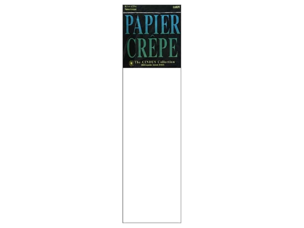 Crepe Paper Folds by Cindus 20  in. x 7 1/2 ft. White
