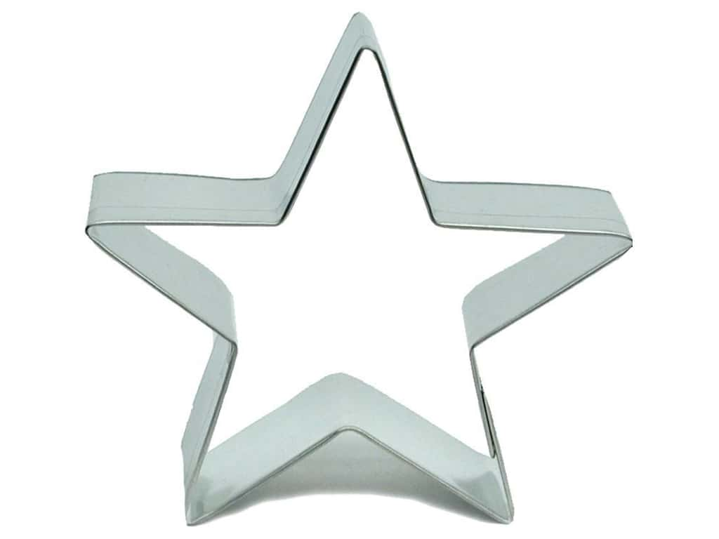 Fox Run Cookie Cutter 3 in. Star