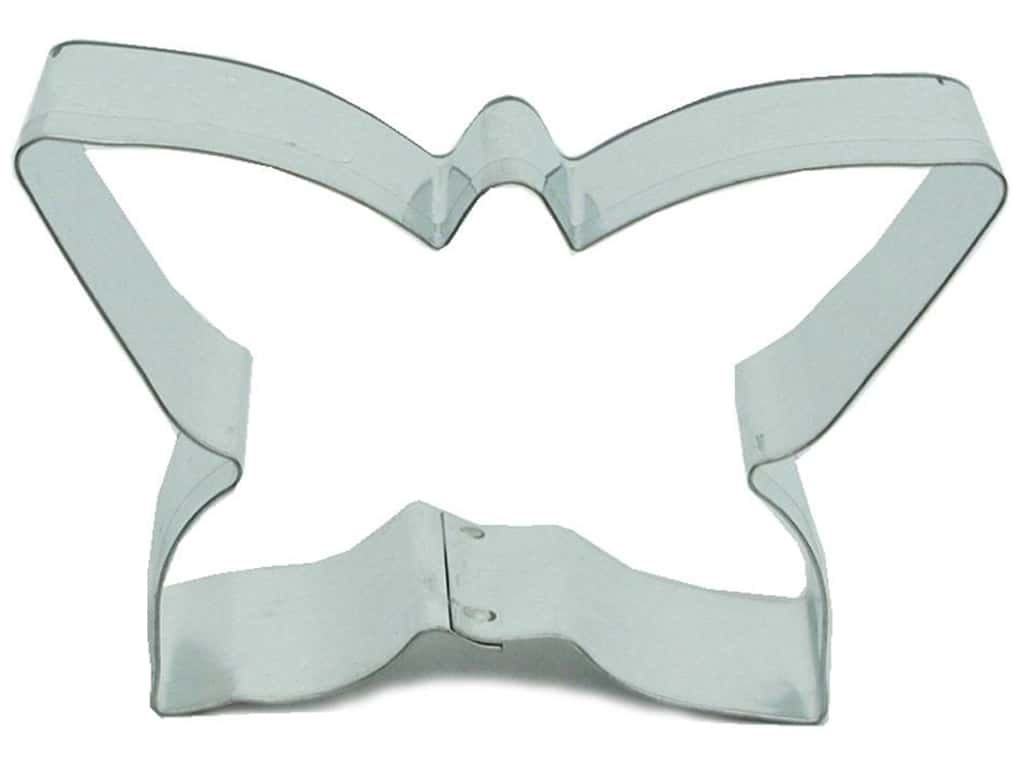 Fox Run Cookie Cutter 3 in. Butterfly