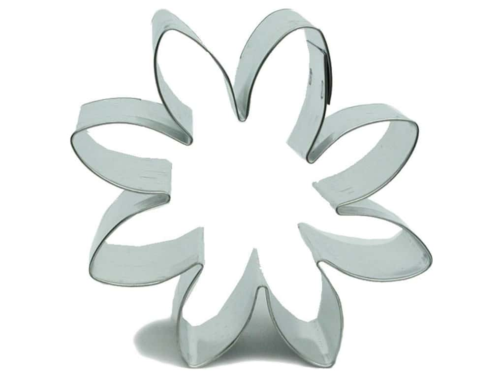 Fox Run Cookie Cutter 3 in. Daisy