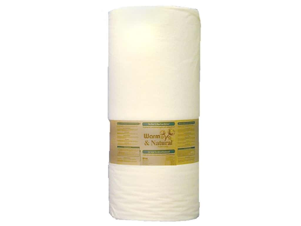 The Warm Company Warm & Natural Cotton Batting 90 in. x 40 yd. (40 yards)