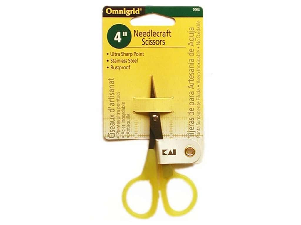 Omnigrid 4 in. Needlecraft Scissors