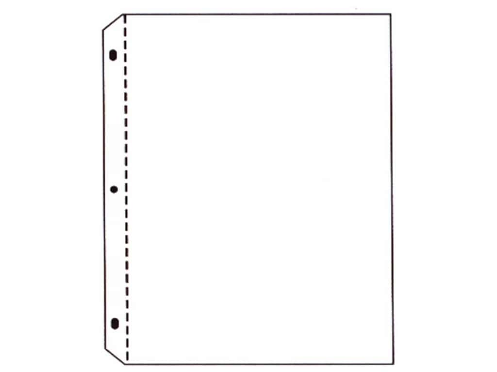 C-Line Page Protectors 8 1/2 x 11 in. Top Load Clear 50 pc.