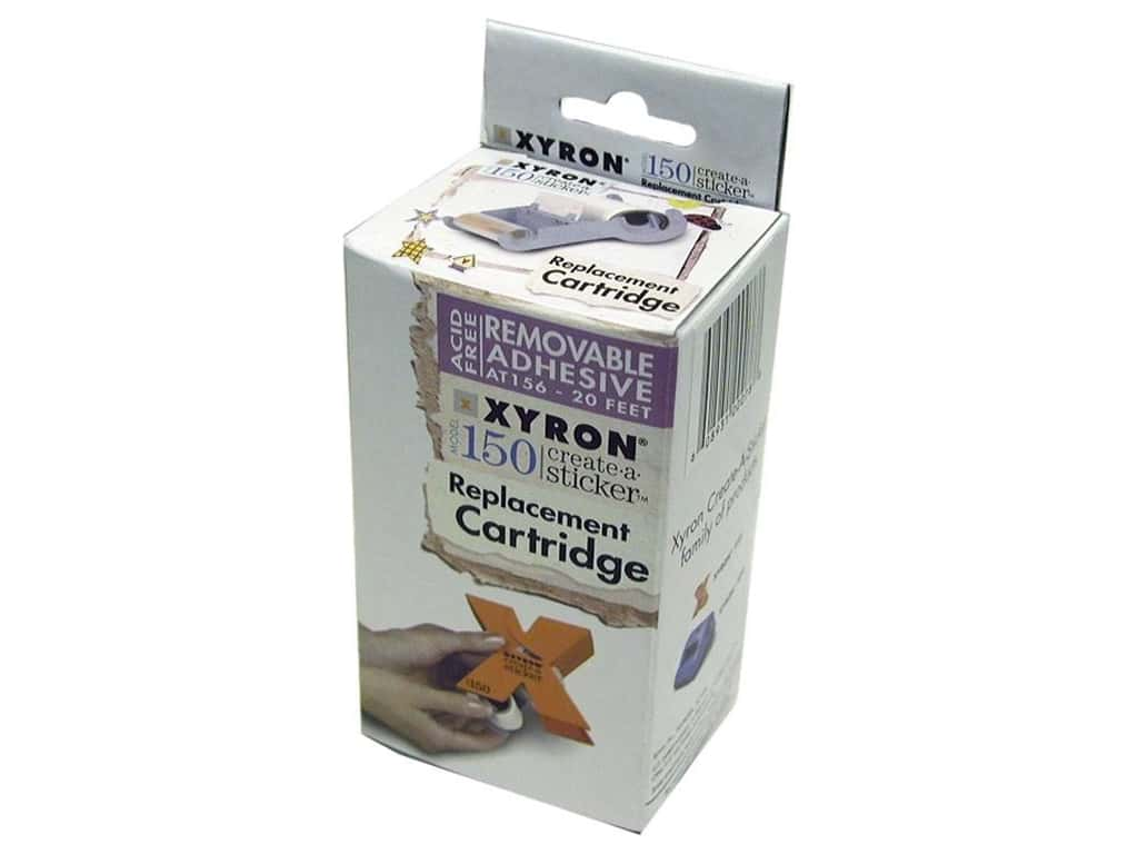 Xyron 1 1/2 in. Sticker Maker Repositionable Refill 20 ft.