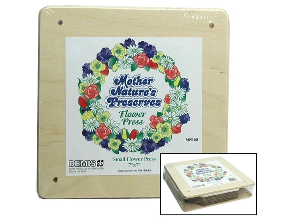 Mother Nature's Preserves Flower Press - Small