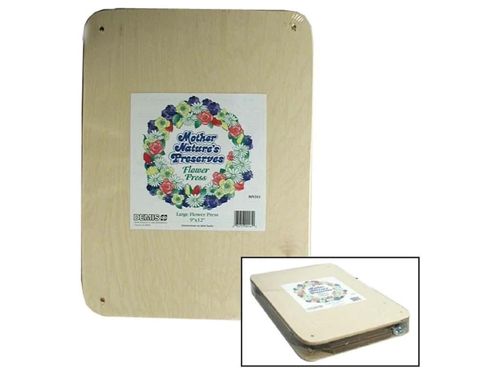 Mother Nature's Preserves Flower Press - Large