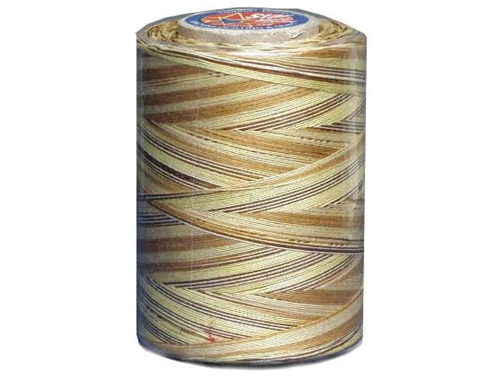 Coats & Clark Star Variegated Mercerized Cotton Quilting Thread 1200 yd. #812 Sandstone