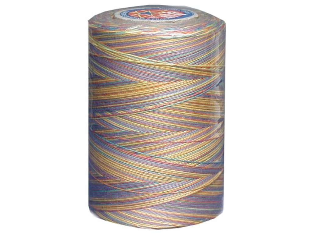 Coats & Clark Star Variegated Mercerized Cotton Quilting Thread 1200 yd. #817 Gum Balls