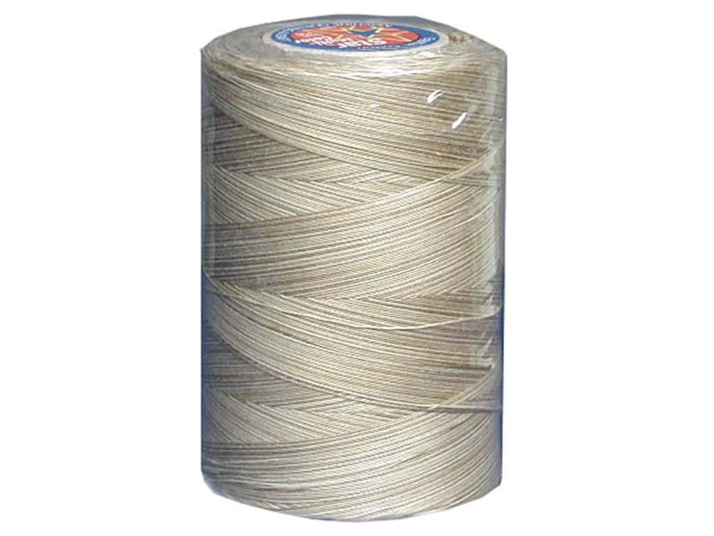 Coats & Clark Star Variegated Mercerized Cotton Quilting Thread 1200 yd. #829 Old Lace