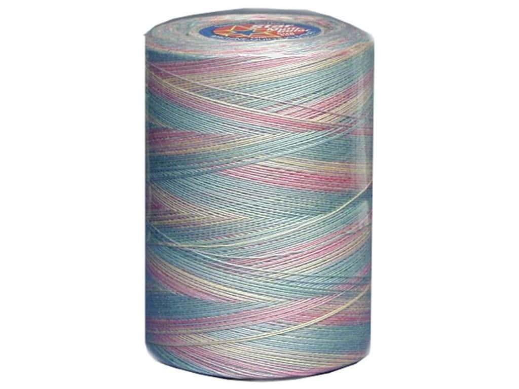 Coats & Clark Star Variegated Mercerized Cotton Quilting Thread 1200 yd. #865 Baby Pastels