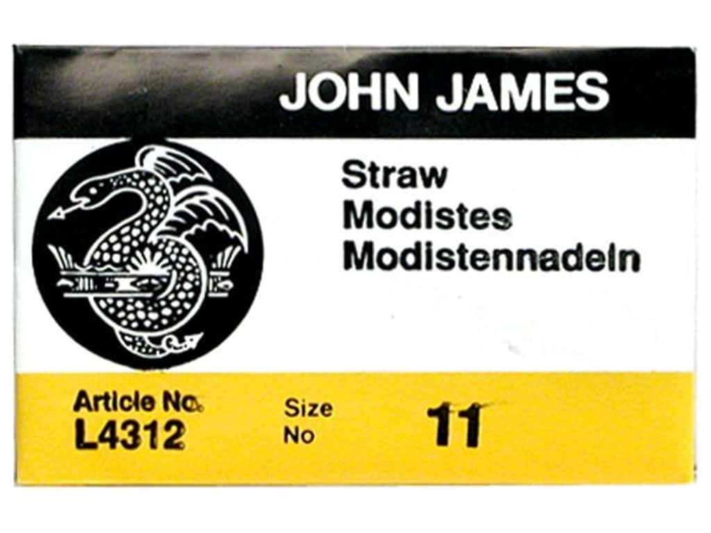 John James Milliners Needles Size 11 25 pc. (2 packages)