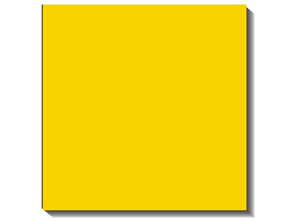Bazzill Cardstock 12 x 12 in. Canvas Bazzill Yellow (25 sheets)