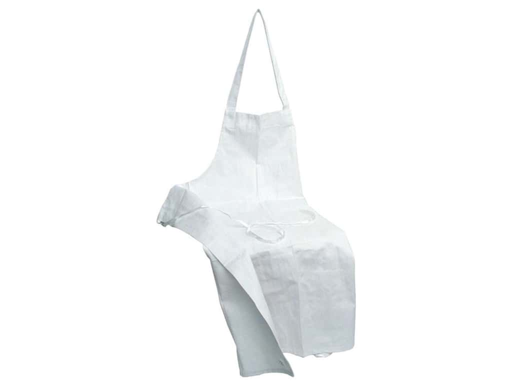 Aunt Martha's Aprons 28 x 35 in. White