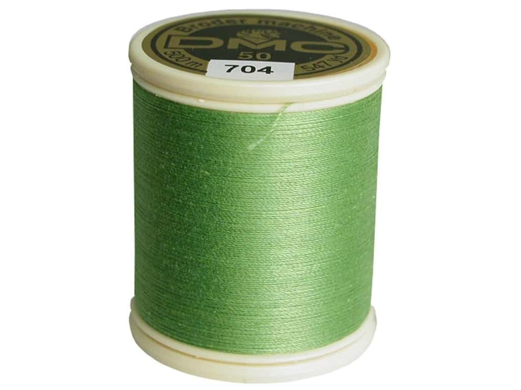 DMC Cotton Machine Embroidery Thread 50 wt. 547 yd. #704 Bright Chartreuse