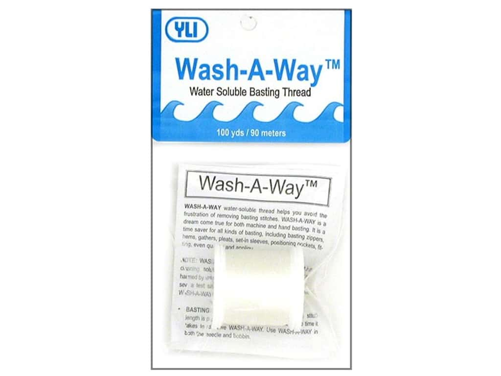 YLI Wash-A-Way Thread 100 yd