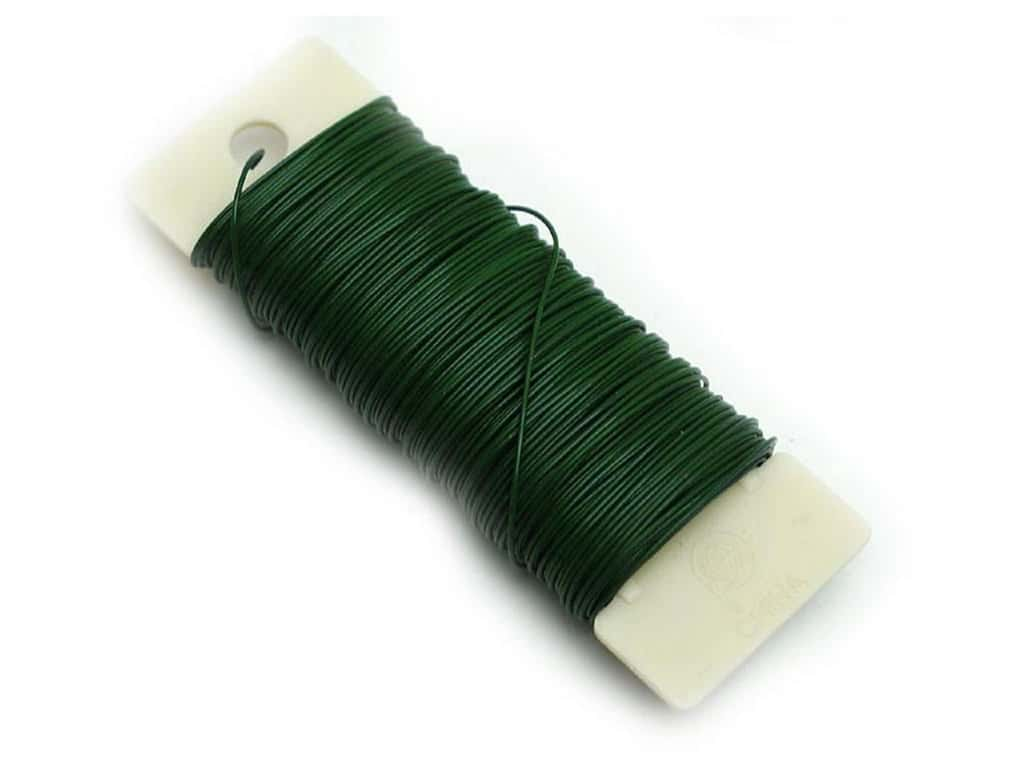 Panacea Paddle Wire 22-Gauge 1/4 lb. Green