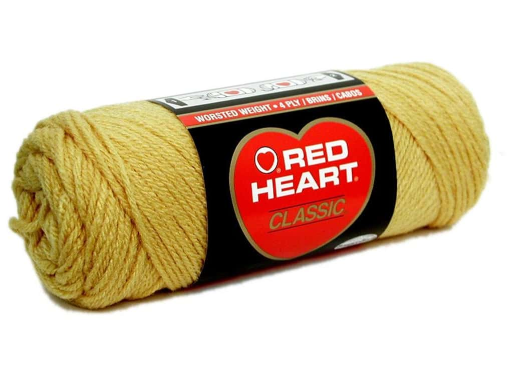 Red Heart Classic Yarn 190 yd. #645 Honey Gold