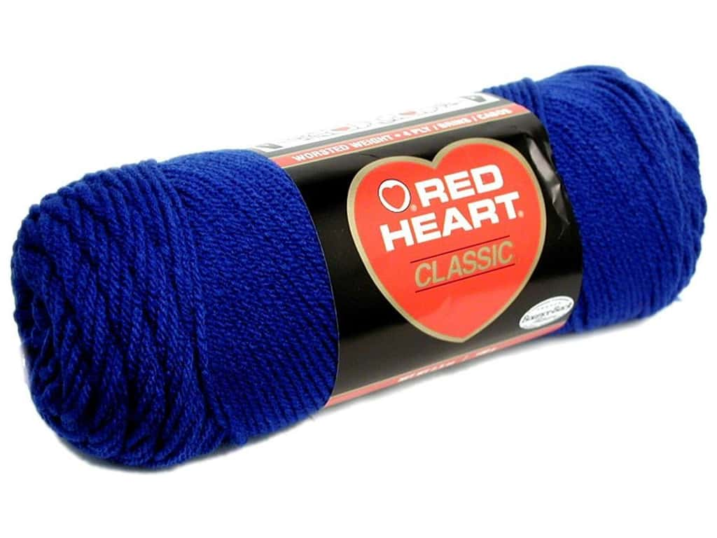 Red Heart Classic Yarn 190 yd. #849 Olympic Blue