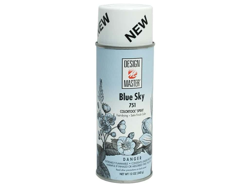 Design Master Colortool Spray Paint 12 oz. #751 Blue Sky