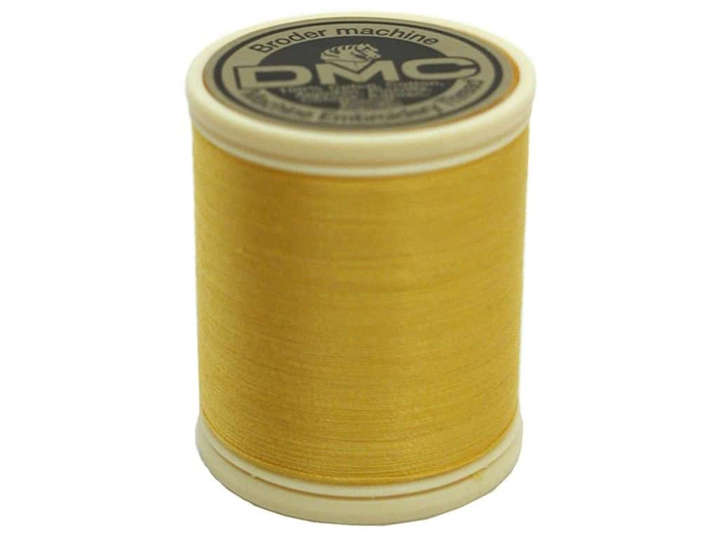 DMC Cotton Machine Embroidery Thread 50 wt. 547 yd. #728 Topaz