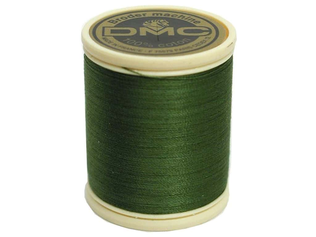 DMC Cotton Machine Embroidery Thread 50 wt. 547 yd. #3346 Hunter Green