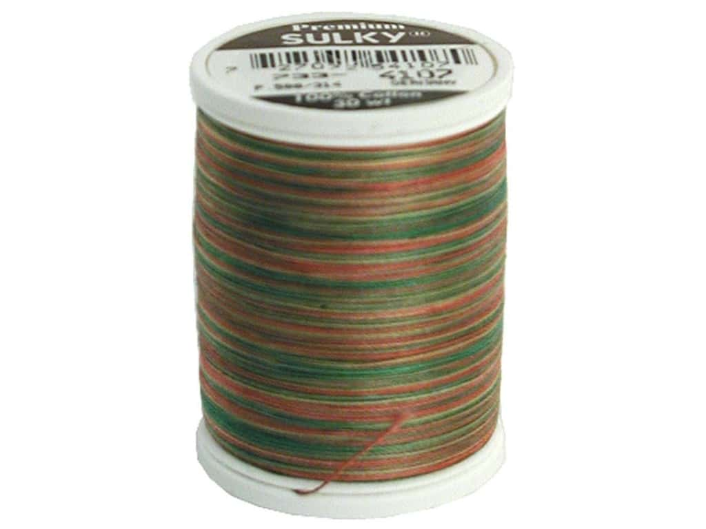 Sulky Blendables Cotton Thread 30 wt. 500 yd. #4107 Antique Christmas