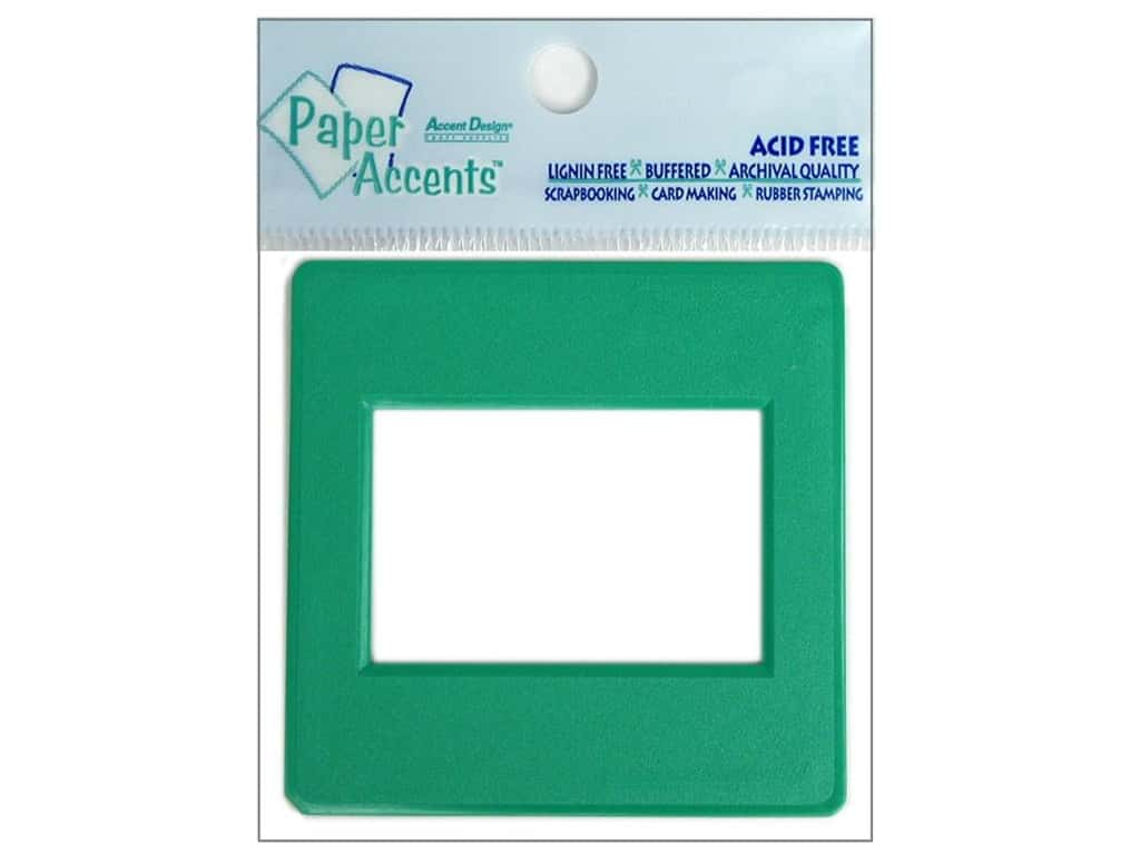 Paper Accents Slide Frame 5 pc. Green
