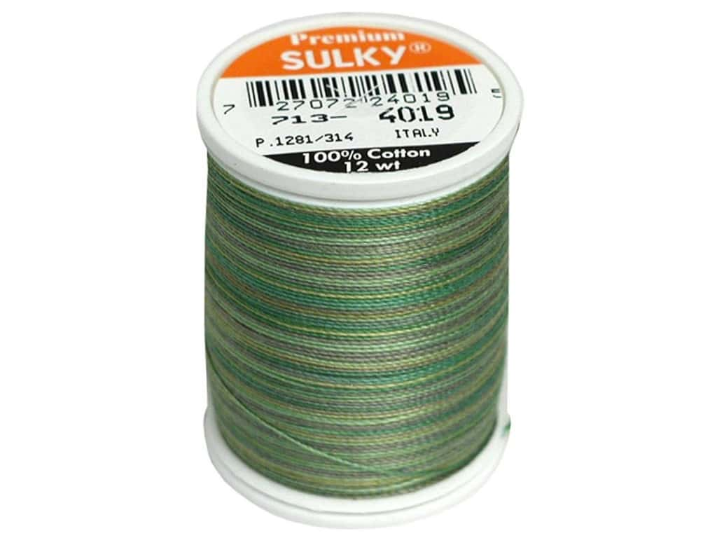 Sulky Blendables Cotton Thread 12 wt. 330 yd. #4019 Forest Floor