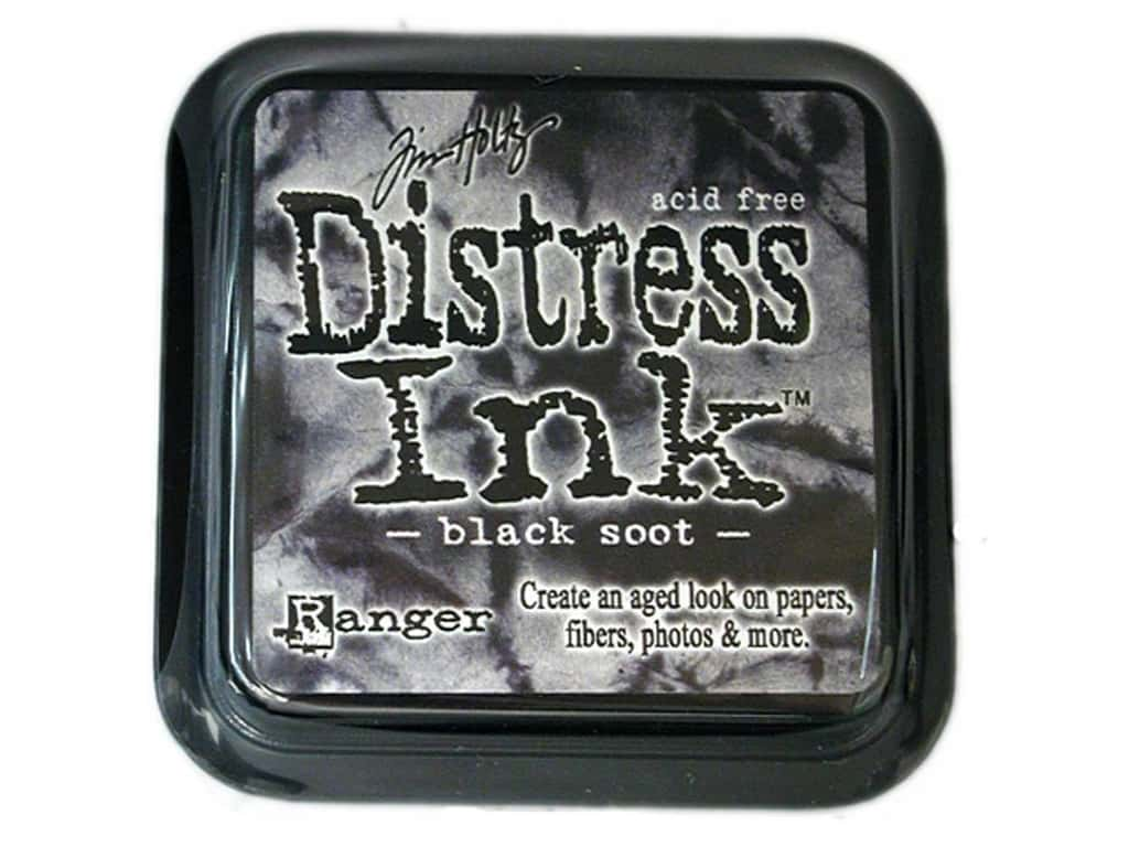 Ranger Tim Holtz Distress Ink Pad Black Soot
