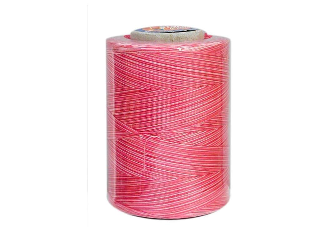 Coats & Clark Star Variegated Mercerized Cotton Quilting Thread 1200 yd. #819 Pink Passion
