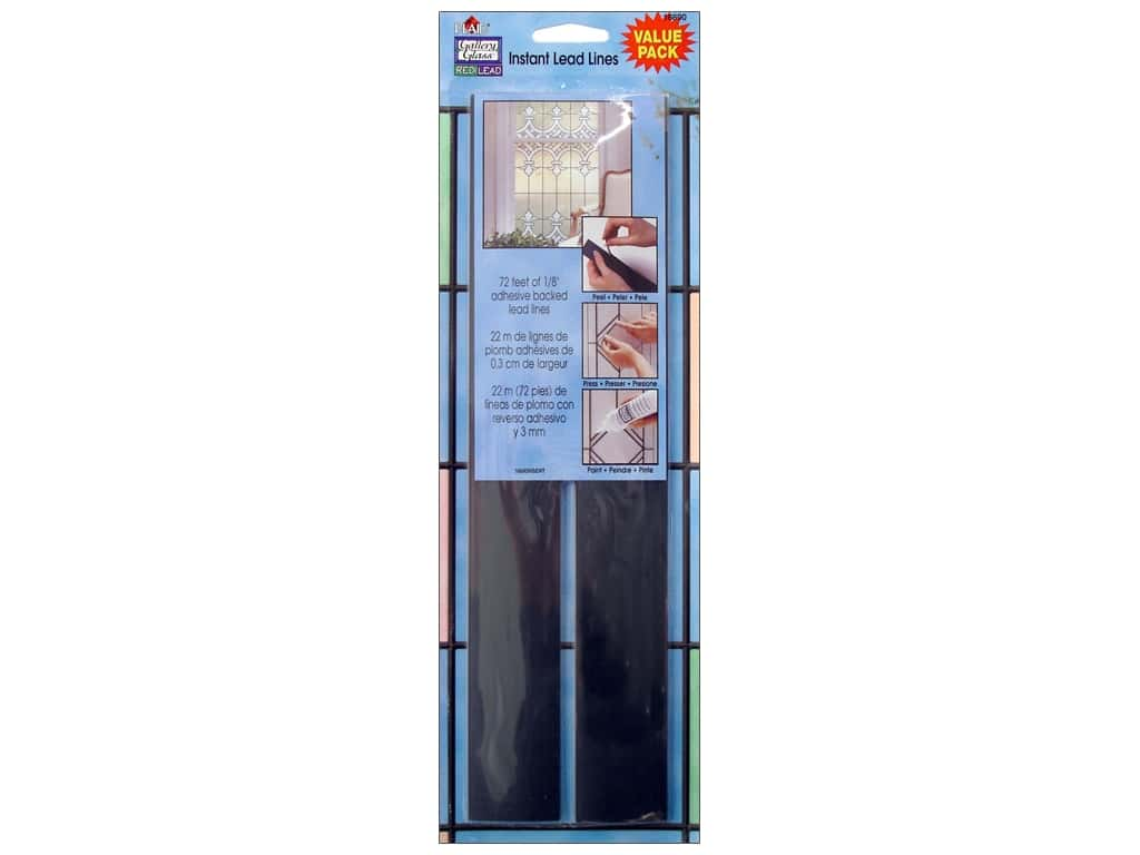 Plaid Gallery Glass Redi-Lead Value Pack