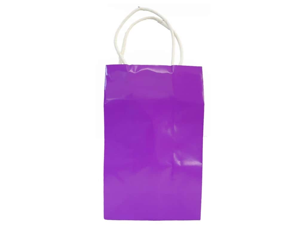 Small Gift Bag by Cindus Clay Coat Grape